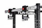Hrazda s flexibilními úchopy pro klec TUNTURI RC20