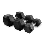 Sada jednoručních činek TUNTURI Hexa 1-10 kg (10 párů)