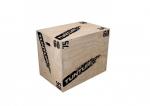 Plyometrická bedna dřevěná TUNTURI Plyo Box 40/50/60 cm