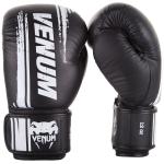 Boxerské rukavice Bangkok Spirit - kůže Nappa černé VENUM