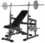 Posilovací lavice na bench press FINNLO SET 4000