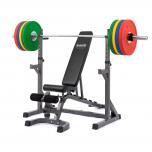 Posilovací lavice na bench press TRINFIT Set RX20