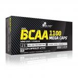 OLIMP BCAA 1100 Mega Caps 120 kapslí + 10 vzorků BCAA XPLODE zdarma!