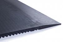 Náběhová hrana 100 cm pro podlahy CROSSFIT černá