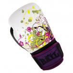 Boxerské rukavice 10 oz kůže Royal BAIL Purple white