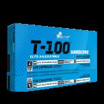 OLIMP T-100® HARDCORE 120 kapslí +5 vzorků gaineru PROFI MASS zdarma!