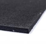 Sportovní gumová podlaha do fitness PROFI CF 8 mm černá