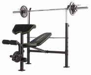 Posilovací lavice TUNTURI WB60 Olympic Width Weight Bench