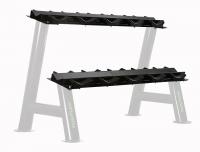 Přídavné úložiště pro stojan na jednoručky TUNTURI Pro - pár