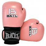 Boxerské rukavice dětské B-fit BAIL světle růžové