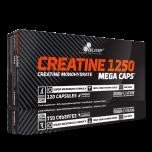 OLIMP Creatine 1250 mg Mega Caps 120 kapslí +5 vzorků gaineru PROFI MASS zdarma!