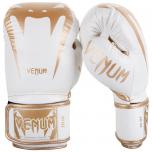 Boxerské rukavice Giant 3.0 - kůže Nappa bílo/zlaté VENUM