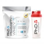 PHD Pharma Whey HT+ 908 g + shaker PhD 700 ml ZDARMA