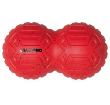Masážní míček - dvojitý LIVEPRO detail