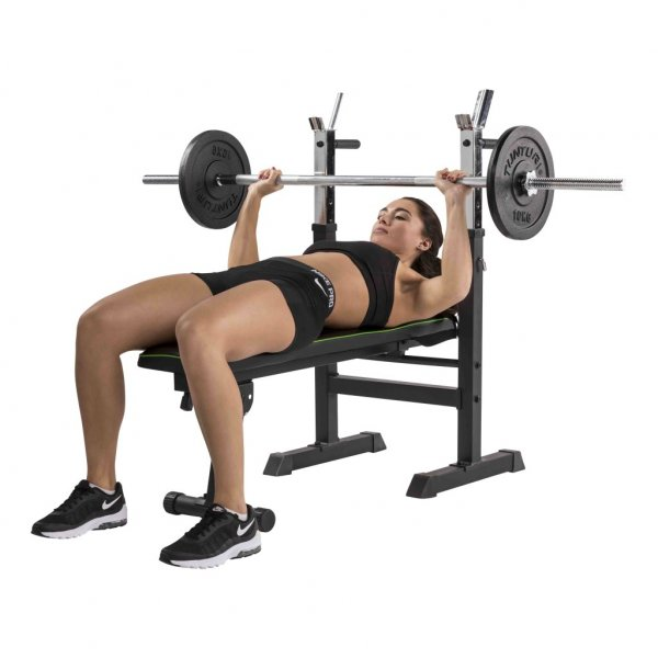 Posilovací lavice na bench press TUNTURI WB20 Basic Weight Bench