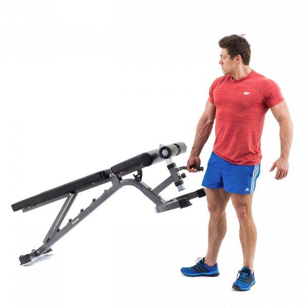 Posilovací lavice na břicho TRINFIT Vario LX7 převozg