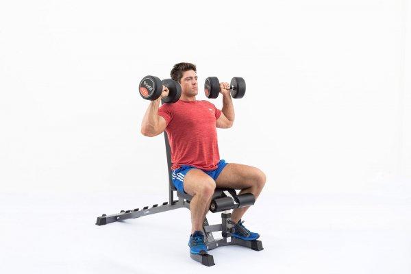 Posilovací lavice na břicho TRINFIT Vario LX7  ramenag