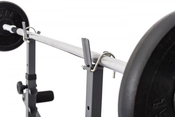 Posilovací lavice na bench press TRINFIT Bench FX2 detail osag