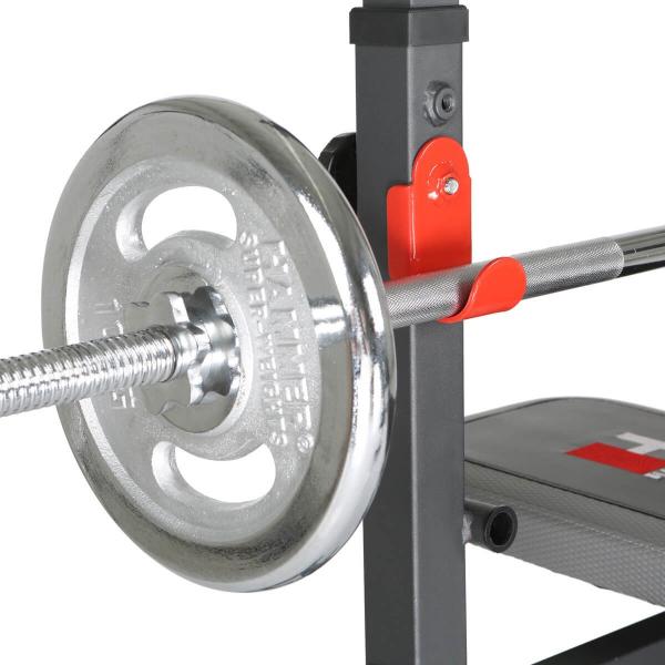 Posilovací lavice na bench press Hammer Bermuda XT Pro stojan