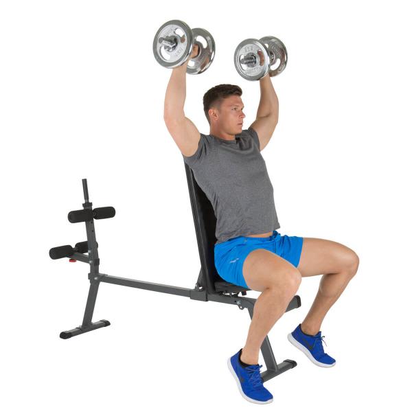 Posilovací lavice na břicho Hammer 4516 AB Bench Perform One ramena