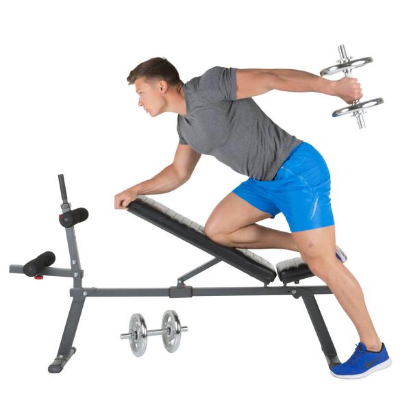 Posilovací lavice na břicho Hammer 4516 AB Bench Perform One triceps