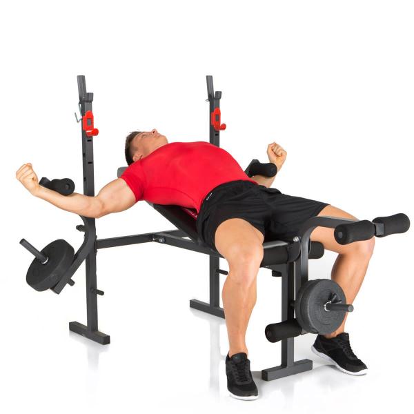Posilovací lavice na bench press Hammer Bermuda rozpažování
