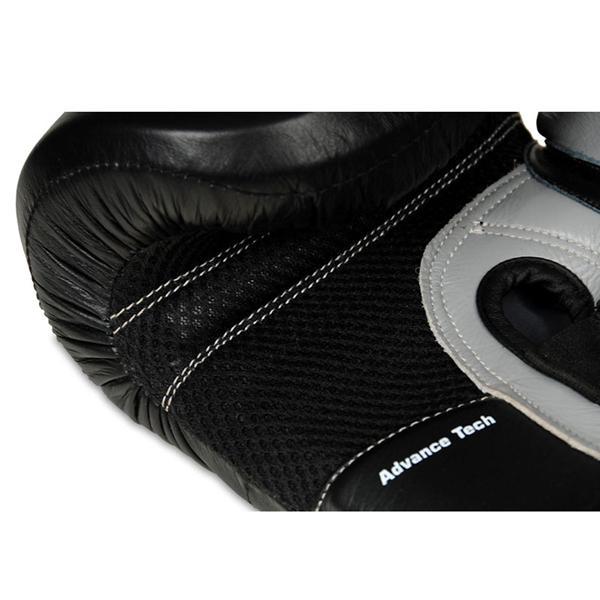 Boxerské rukavice kožené DBX BUSHIDO ARB-431 šedé detai 4