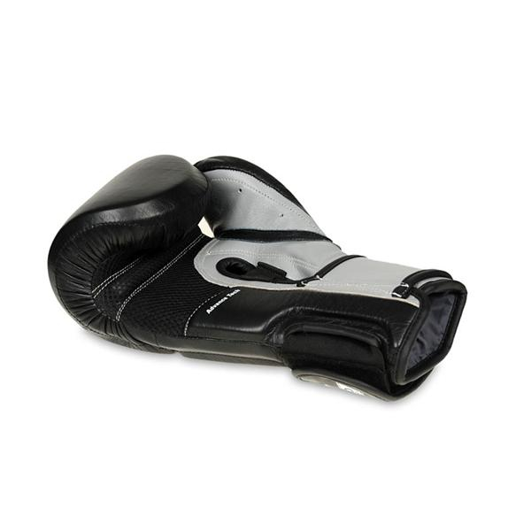 Boxerské rukavice kožené DBX BUSHIDO ARB-431 šedé detail 3