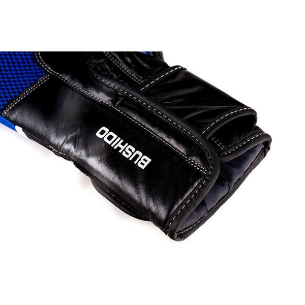 Boxerské rukavice kožené DBX BUSHIDO DBD-B-2 v2 detail spodek