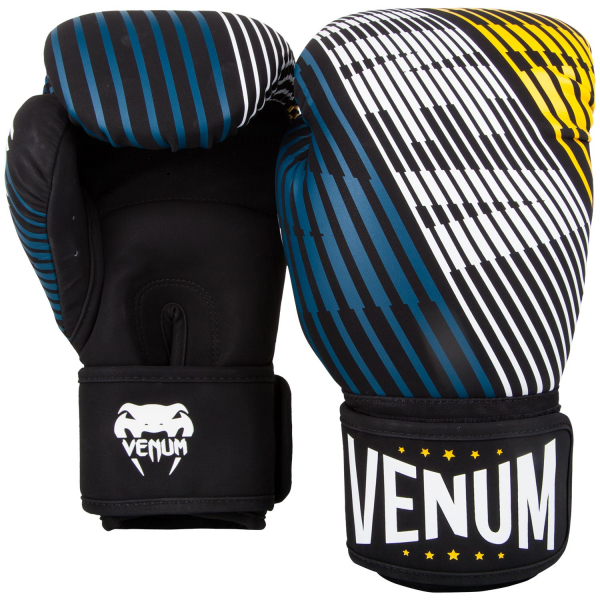 Boxerské rukavice Plasma černé žluté VENUM pair