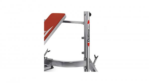 Posilovací lavice na bench press BH Fitness Optima Press G330 detail