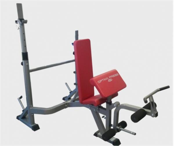 Posilovací lavice na bench press BH Fitness Optima Press G330 uhel