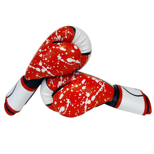 Boxerské rukavice Red Stain BAIL vel. 10 oz side