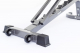 Posilovací lavice na břicho TRINFIT Vario LX7 kolečkag