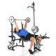 Posilovací lavice na bench press Hammer Bermuda XT Pro bench