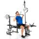 Posilovací lavice na bench press Hammer Bermuda XT Pro kladka