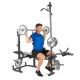 Posilovací lavice na bench press Hammer Bermuda XT Pro ramena
