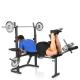 Posilovací lavice na bench press Hammer Bermuda XT - cvik 4