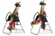 Posilovací lavice na záda BH Fitness Zero TOP G400 cvičení