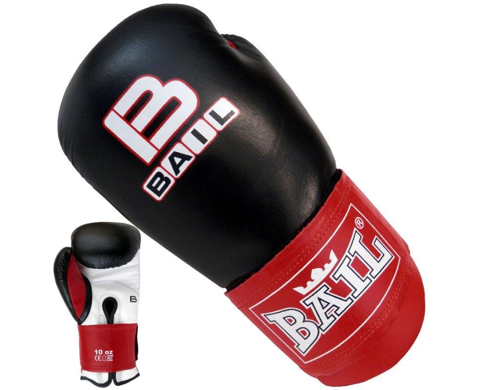 Boxerské rukavice 10 oz kůže Thai BAIL
