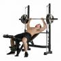 Posilovací lavice na bench press Tunturi SM60 Half Smithcvik 2g