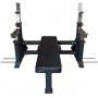 Posilovací lavice na bench press STRENGTHSHOP Posilovací lavice se stojany na bench-press - pohled 2