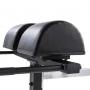 Posilovací lavice na záda Hyperextenze Glute Ham GHD TUNTURI - detail polstrování